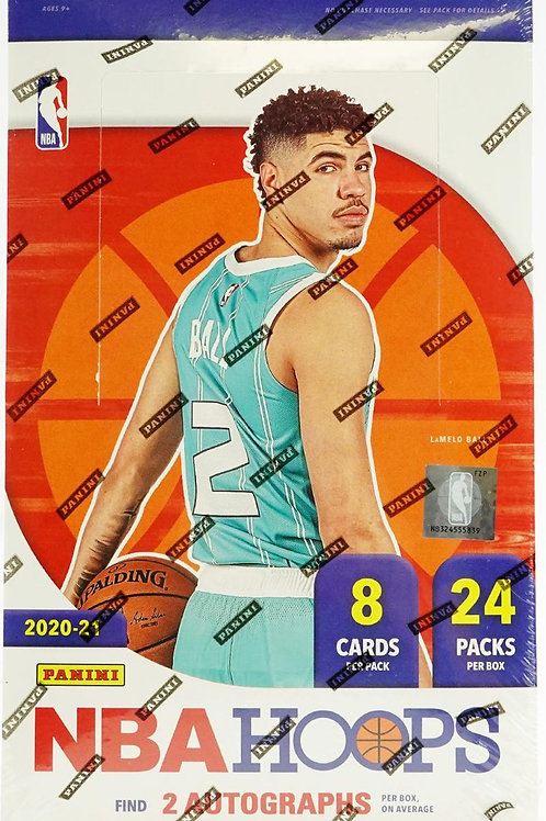 20-21 Panini Hoops Basketball Hobby Packs
