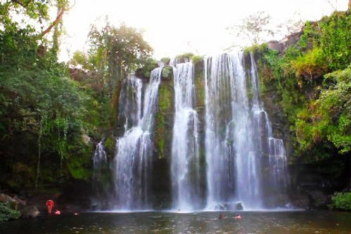 Waterfalls Llanos del Cortez