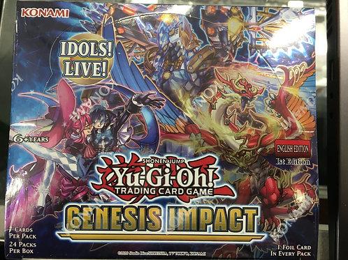 YU-GI-OH CCG: BOOSTER BOX: GENESIS IMPACT