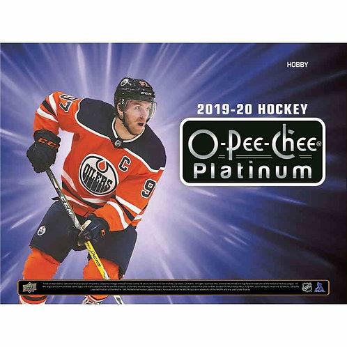 19-20 UD O-Pee-Chee Platinum Hockey Single Box