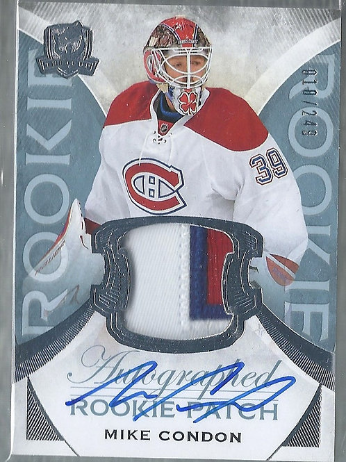 Mike Condon 2015-16 The Cup #126, JSY, AU, RC, 010/249