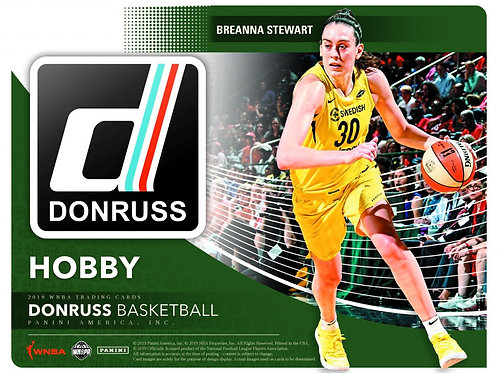 2019 DONRUSS WNBA BASKETBALL - HOBBY BOX