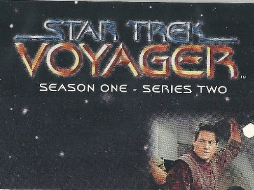 1995 Star Trek Voyager Series 2 #1 Mission Chronology