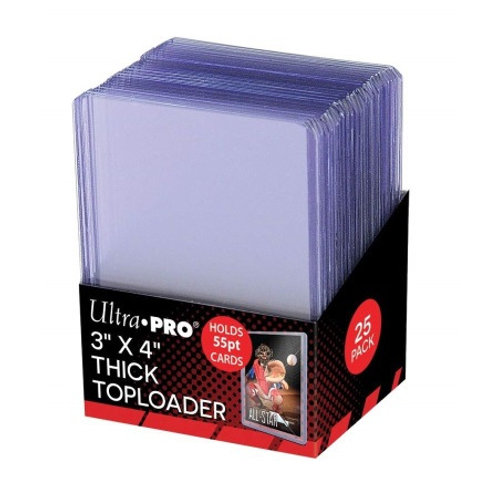 ULTRA PRO: TOPLOADER - 3X4 55 POINT 81181