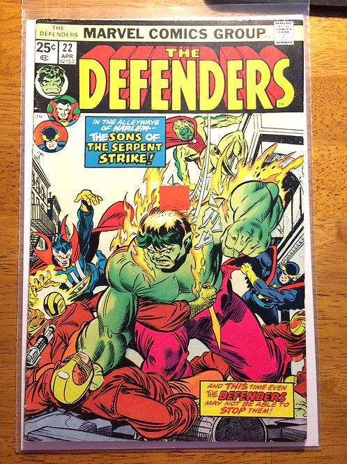 Defenders (1972 1st Series) #22