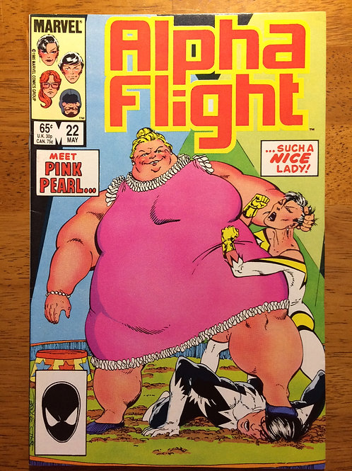 Alpha Flight #22 May