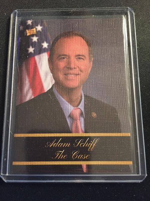 """Adam Schiff # 7 """"The Case"""""""