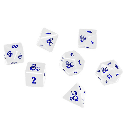 ULTRA PRO: DUNGEONS AND DRAGONS DICE: ICEWIND DALE RIME OF THE FROSTMAIDEN 7CT