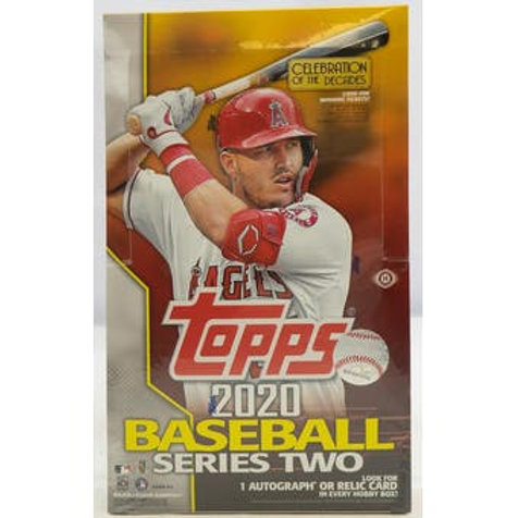 2020 TOPPS SERIES 2 BASEBALL - HOBBY BOX