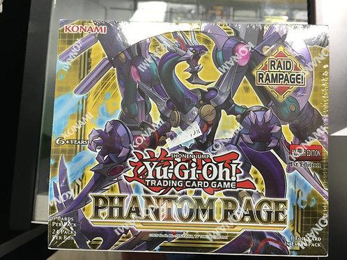 YU-GI-OH CCG: BOOSTER BOX: PHANTOM RAGE