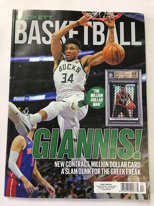 Beckett Basketball Magazine Vol:32, No. 2 Febuary 2021