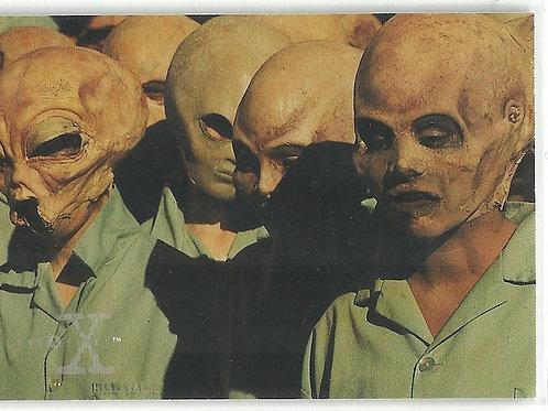 1996 X-Files Season Three #58 731 Extraterrestrials