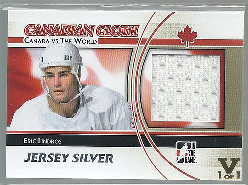 Eric Lindros (1/1) ITG, Final Vault, Jersey Silver