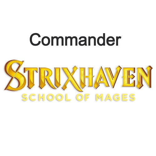 MAGIC THE GATHERING: STRIXHAVEN COMMANDER DECK BOX
