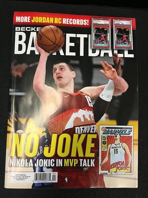Beckett Basketball Magazine Vol:32, No. 4 April 2021