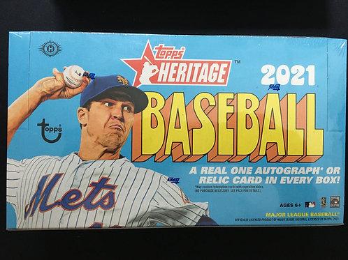 Topps Heritage Baseball Pack (2021) Single Pack
