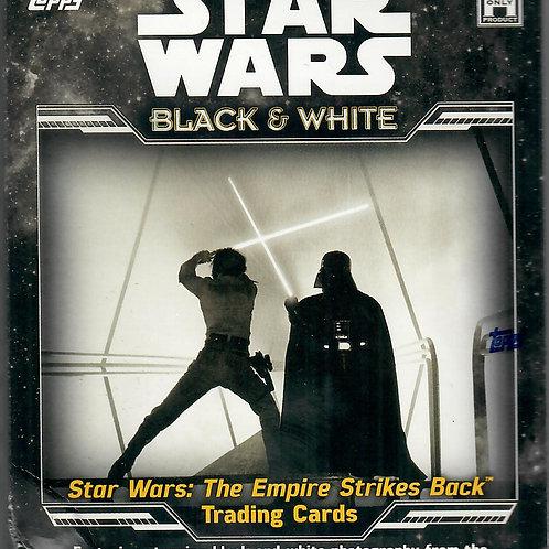 STAR WARS EMPIRE STRIKES BACK BLACK & WHITE (2019) - HOBBY BOX