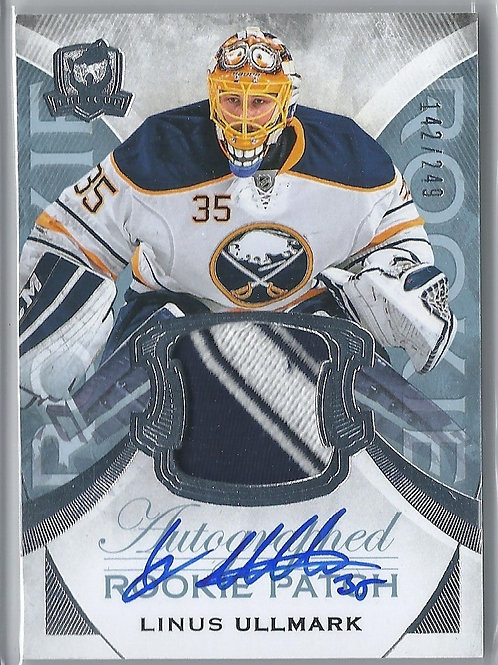 Linus Ullmark 2015-16 The Cup #117, JSY, AU, RC, 142/249