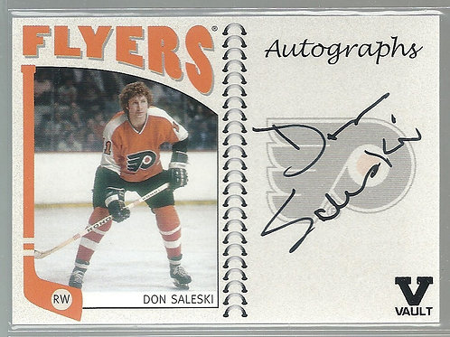 Don Saleski, (Final Vault),2004-05 ITG Franchises US East Autographs #ADOS