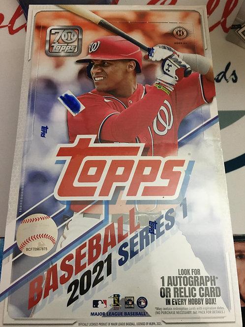 2021 Topps Series 1 Baseball Hobby PACKS