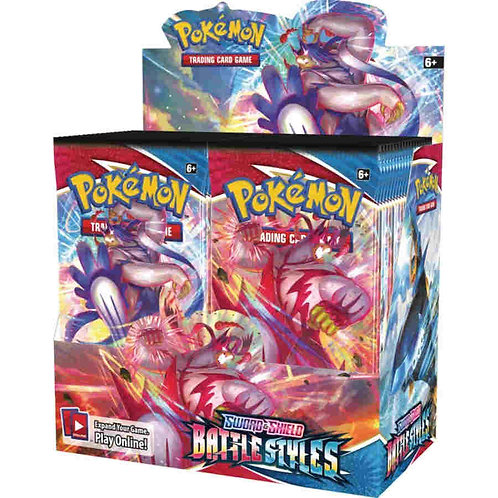 POKEMON TCG: SWORD AND SHIELD BATTLE STYLES BOOSTER