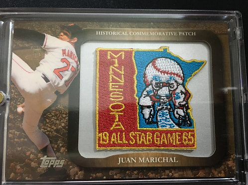 2009 Topps Legends Commemorative Patch #LPR74 Juan Marichal/1965 MLB ASG