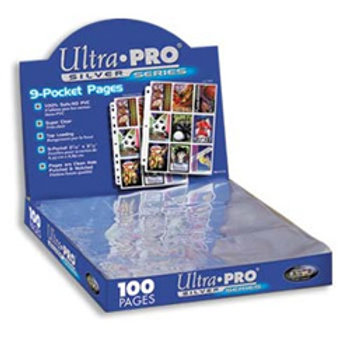 Ultra Pro Silver Series 100/9 Pocket Page Protector