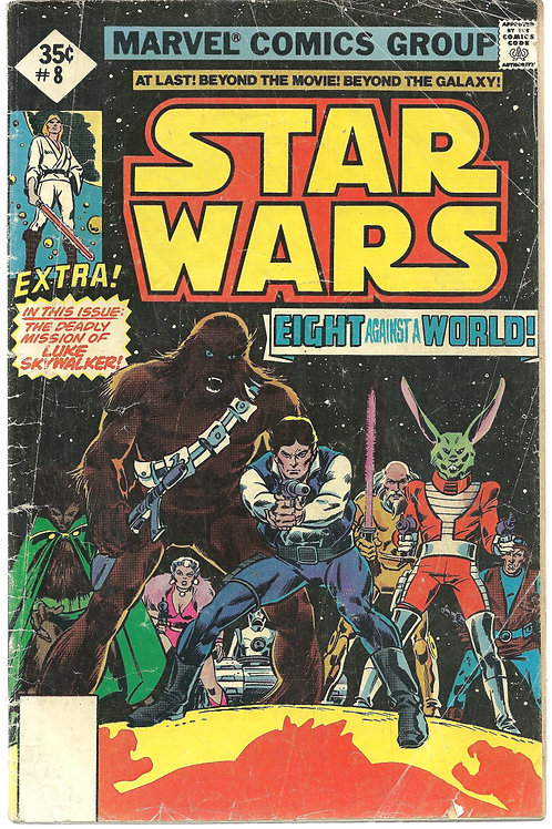 Star Wars (Eight against the World) #8