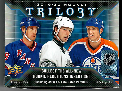 19-20 UPPER DECK TRILOGY HOCKEY - HOBBY - SINGLE - BOX