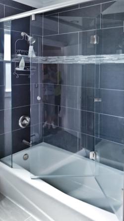 5 - Bifold frameless shower door