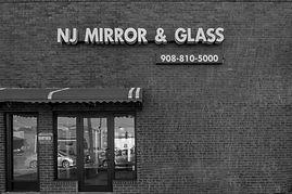 NJ mirror & glass show room