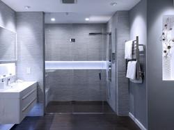 24-Frameless Shower Door