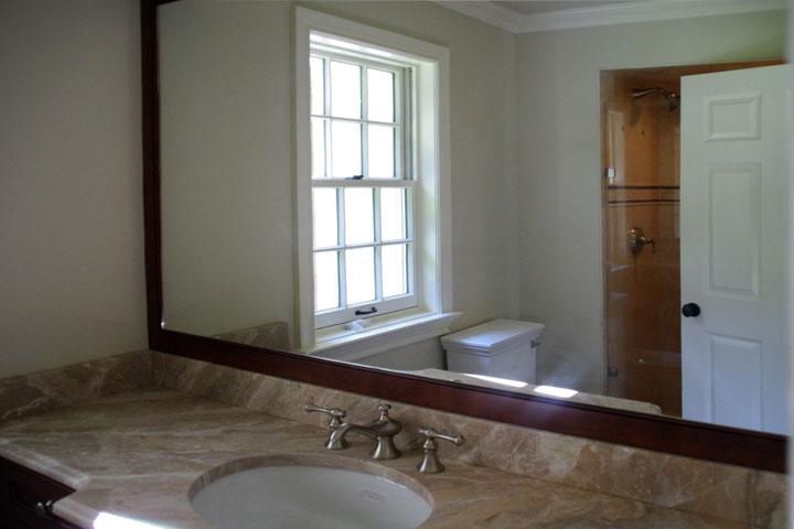 15 - Custom vanity mirror