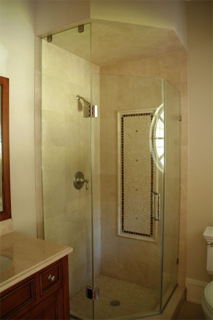 12 - Neo-angle shower door