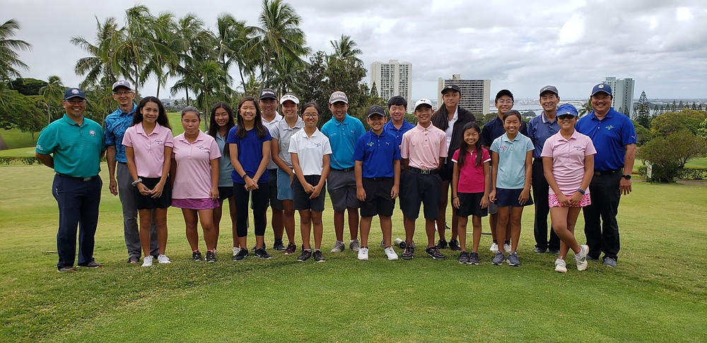 Mahalo to all who took the time to attend this Rules clinic conducted by the best!  Organized by Executive Director of the Hawaii State Golf Association, Paul Ogawa.  Hawaii Hall of Famer Inductees and OJGA Alumni-David Ishii, Wendell Tom (son of OJGA Founder, Bob Tom), OJGA Vice President and Tournament Director, Guy Yamamoto