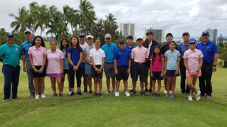Rules Clinic 2019 Conducted by 3 Hawaii Golf Hall of Famers and the Exec. Dir. of the Hawaii State G