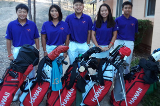 Team Hawaii at the 2018 Callaway Jack Newton International Junior Classic, Cypress Lakes Golf &