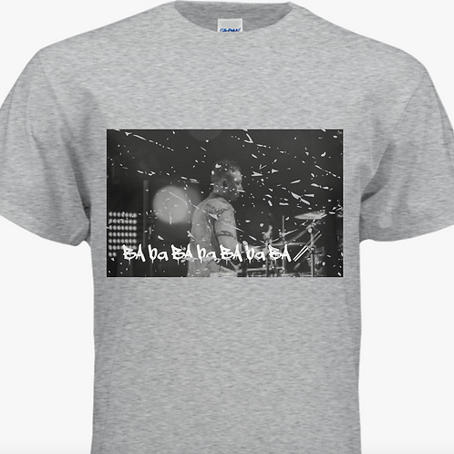 Drummer Graphic Tee - Gray