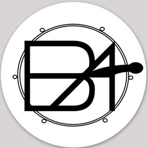 "Vinyl Circle Sticker (2"" / waterproof)"