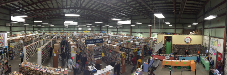 Wide-angle View of the Sale
