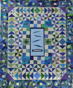 2014 Quilt -Books Give Us Wings