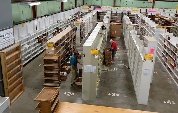 Sales floor empty after sale