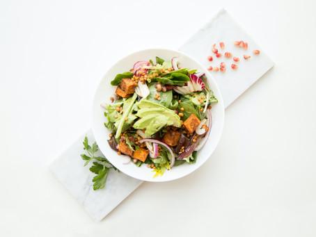 Easiest Postpartum salad