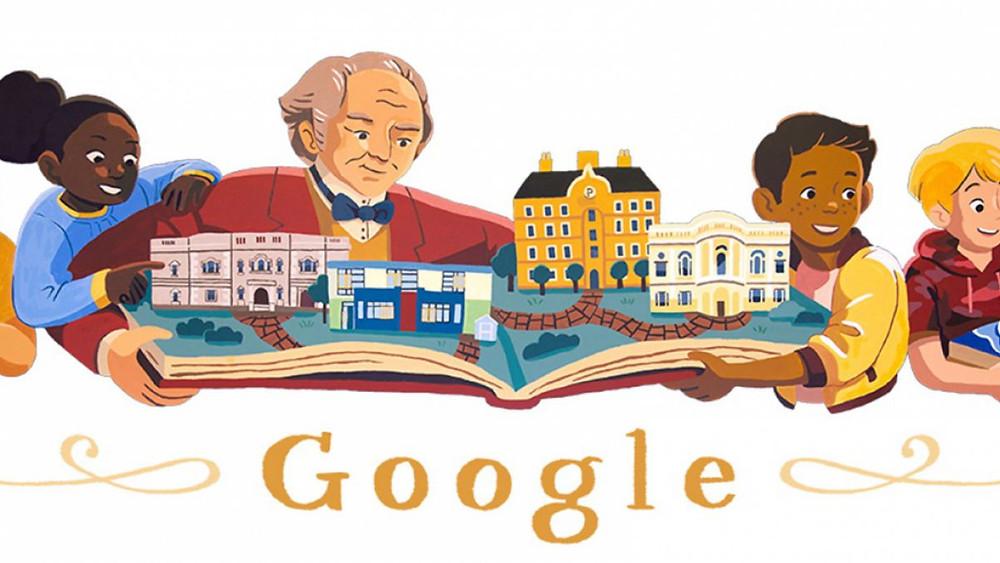 Doodle George Peabody