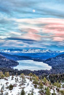 Donner Lake Moon