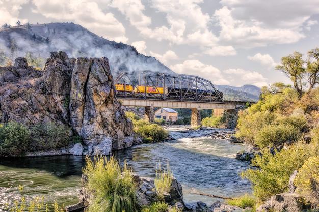 Steam Train Crossing