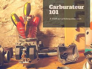 Réglage carburateur 101
