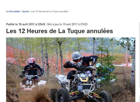 5 courses maintenues pour Pit Bike Québec