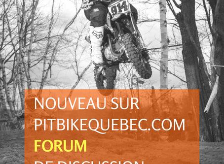 Nouveau sur PitBikeQuebec.com