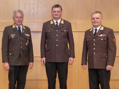 Der Kommandant der FF Pram, Hans-Peter Schiffelhumer, ist neuer Abschnittskommandant